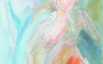 Airwoman, acryl op linnen, 90 x 110 cm, 1997