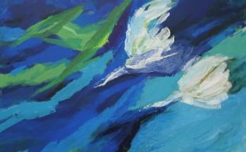 Prelude, acryl op linnen, 90 x 110 cm, 2005 (verkocht)
