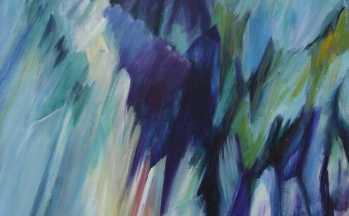 Ticino IV, acryl op linnen, 90 x 110 cm, 2000