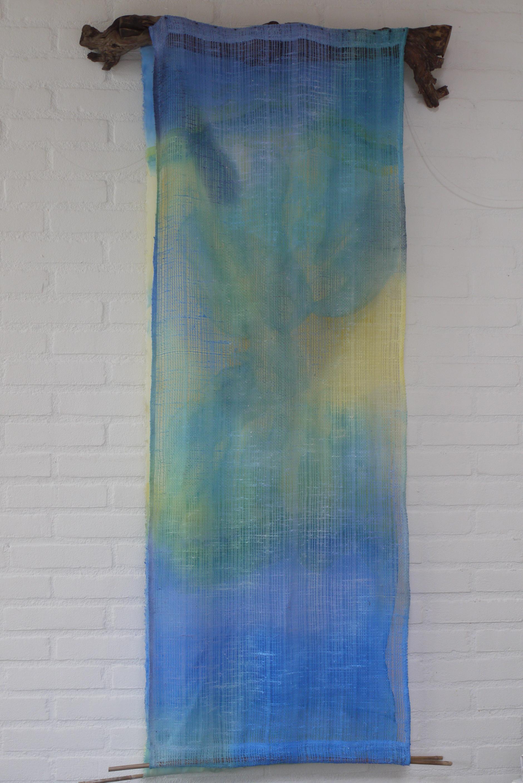 Vaan, acryl, dubbel doek, wijnstok, 2009
