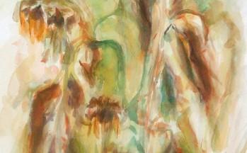 Vergankelijkheid, aquarel op papier, 40 x 62 cm, 2003