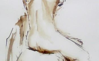 Z.t., bister op papier, 50 x 65 cm