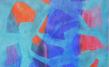 z.t., acryl op papier, 50 x 65 cm, 2012