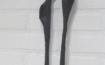 z.t., ontwerp in was, hoog 70 cm