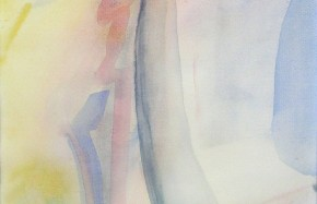 z.t., sluieraquarel,  30 x 45 cm